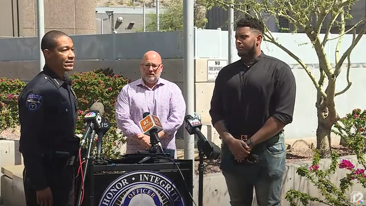 Police: New England Patriots player among 2 Good Samaritans who stopped sexual assault at Tempe park