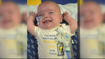 St. Louis boy comes home after almost a year in the NICU