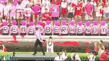 UGA fans to wear pink in honor of Wendy Anderson for Arkansas State game