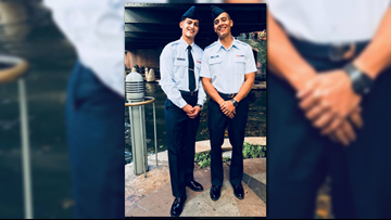 Father, son join Air Force together to follow the same American dream