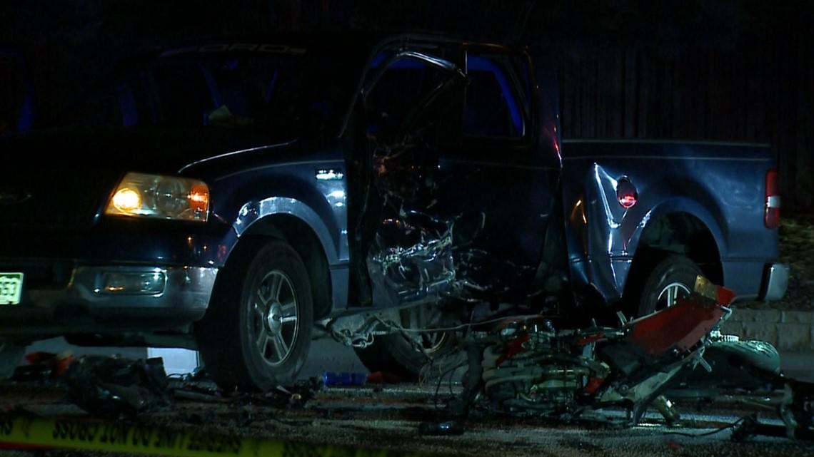 2 killed in thornton crash involving pickup truck motorcycle 13wmaz com 2 killed in thornton crash involving