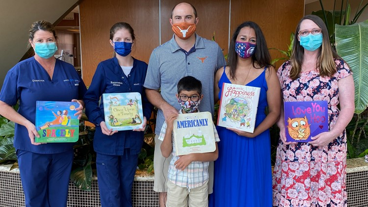 Former NICU mom donates 140 books as part of Fourth of July tradition with son