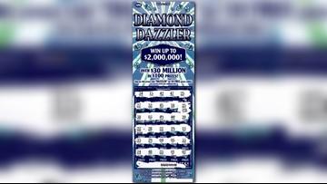 Odd lottery strategy helps man win $2 million on instant ticket