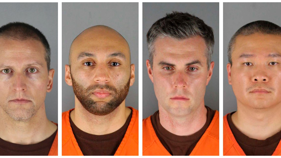 Three Minneapolis officers at scene with Chauvin are charged in Floyd's death