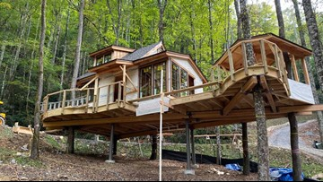 Treehouse getaways coming to the Smokies in Spring 2020