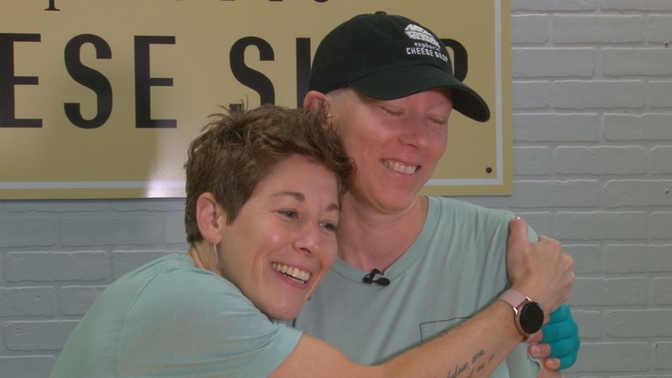 Buddy Check 10: Owners of Farragut cheese shop fight breast cancer together