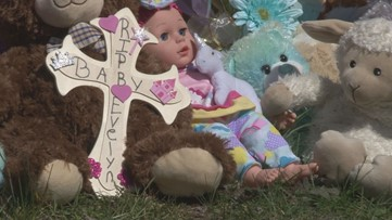 Community creates memorials honoring 15-month-old Evelyn Boswell