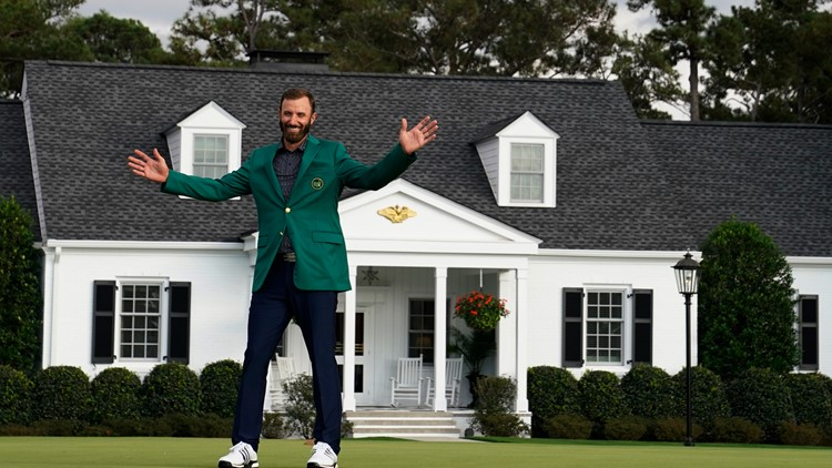 Dustin Johnson takes home first Masters victory with record score