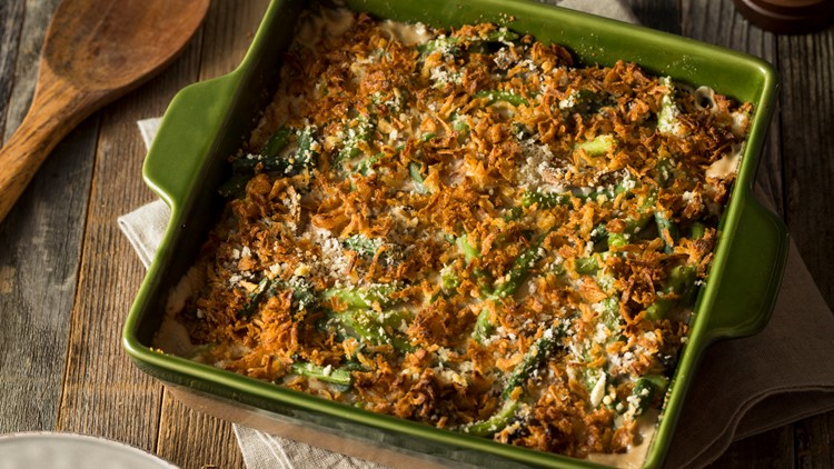 Green bean casserole among America's least favorite Thanksgiving food, survey finds