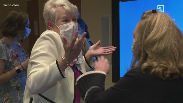 North Carolina nurse celebrates 50 years on the job