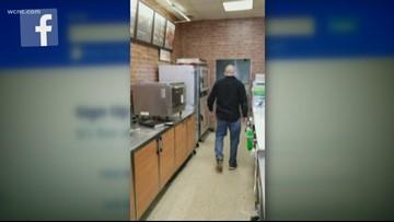 'Get out!' NC Subway restaurant owner slaps customer in shocking viral video