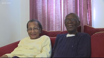 'The good Lord has taken care of us:' Couple celebrates 82 years of marriage