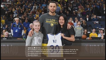 Steph Curry announces scholarship fund for young women