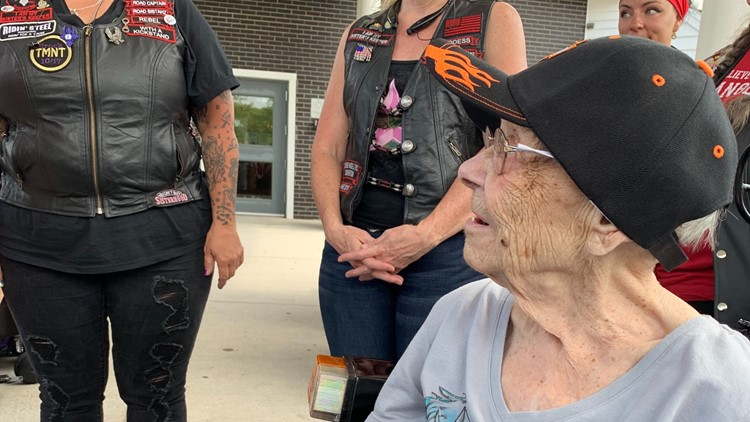 After 50 years, 98-year-old woman gets the ride of her life