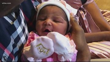 Baby born as tornado tore through Dallas area