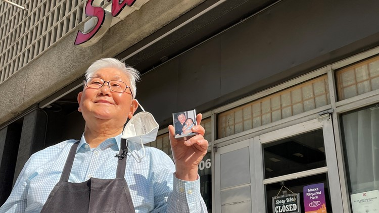Thanks to a loving grandson and a viral TikTok video, a restaurant facing hard times has new life