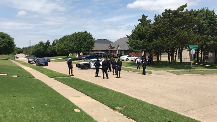 Investigation underway after toddler found dead in street, Texas police say