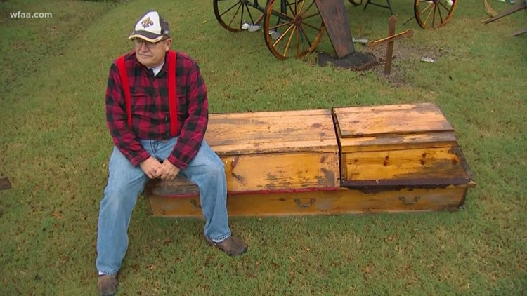 After Diagnosis Then What >> Plano Man Built His Own Coffin After Cancer Diagnosis Then He Beat