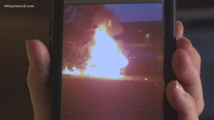 NC Woman Battles With Ford After Her Car Catches On Fire