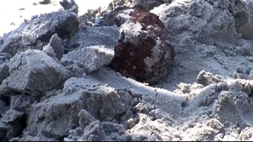 Civil War-era cannonballs wash up on South Carolina beach after Dorian