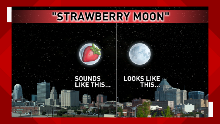 Strawberry Moon explainer