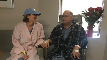 'She Gave Me a Great Valentine's Day Present' | Greensboro Wife Becomes Husband's Living Kidney Donor