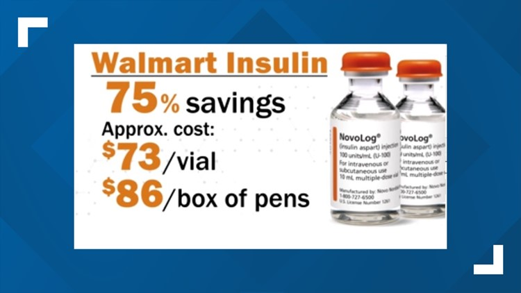 Walmart (and soon Sam's Club) will sell insulin for patients with diabetes at 75% off