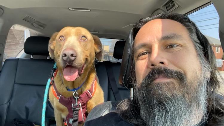 Tennessee man reunites with dog that had been missing for 4 years