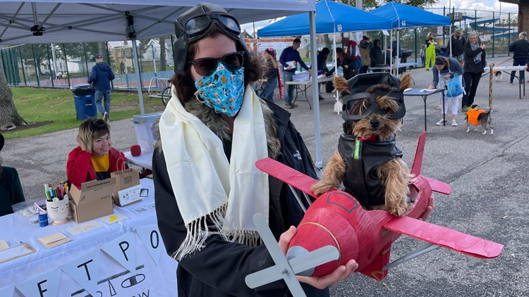LOOK: Pups sport adorable costumes at 14th annual Spooky Pooch Parade in Ohio!
