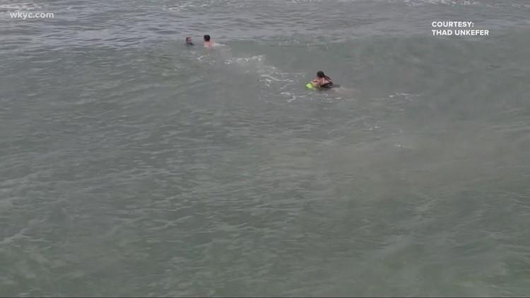 Teen saves mother, son while vacationing in North Carolina