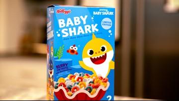 Baby shark cereal, doo doo doo doo