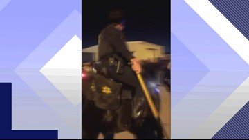 Sheriff apologizes for deputy on horseback's actions during South Carolina football tailgate