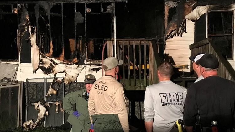 Oconee County House Fire
