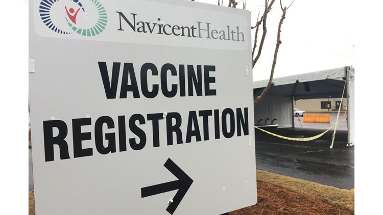 Atrium Health Navicent readies new drive-thru vaccination site