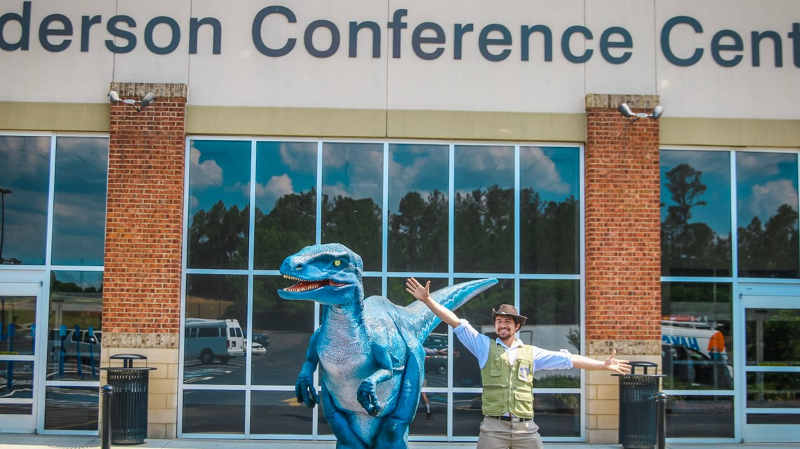 Dinosaurs roam Macon once again at Jurassic Jungle show
