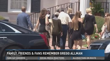 Family and friends remember Gregg Allman