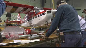 Model airplanes take over the Georgia National Fairgrounds