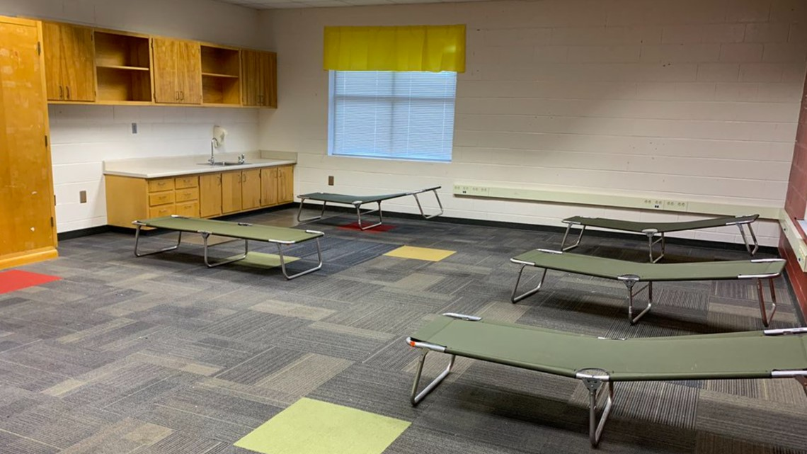 Brookdale Warming Center opens to help families, homeless amid cold months