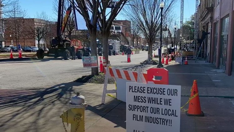 Cost of COVID: Film crews return to Macon after pandemic pause