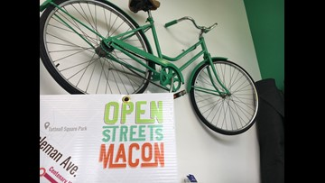 4th annual Open Streets Macon reimagines streets for bikers and pedestrians
