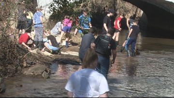 Homeschoolers get hands-on learning through Georgia College's 'Adopt-a-Stream' program