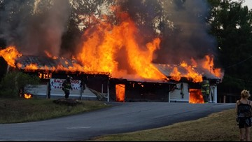 Monroe County bar fire ruled arson, motive unknown