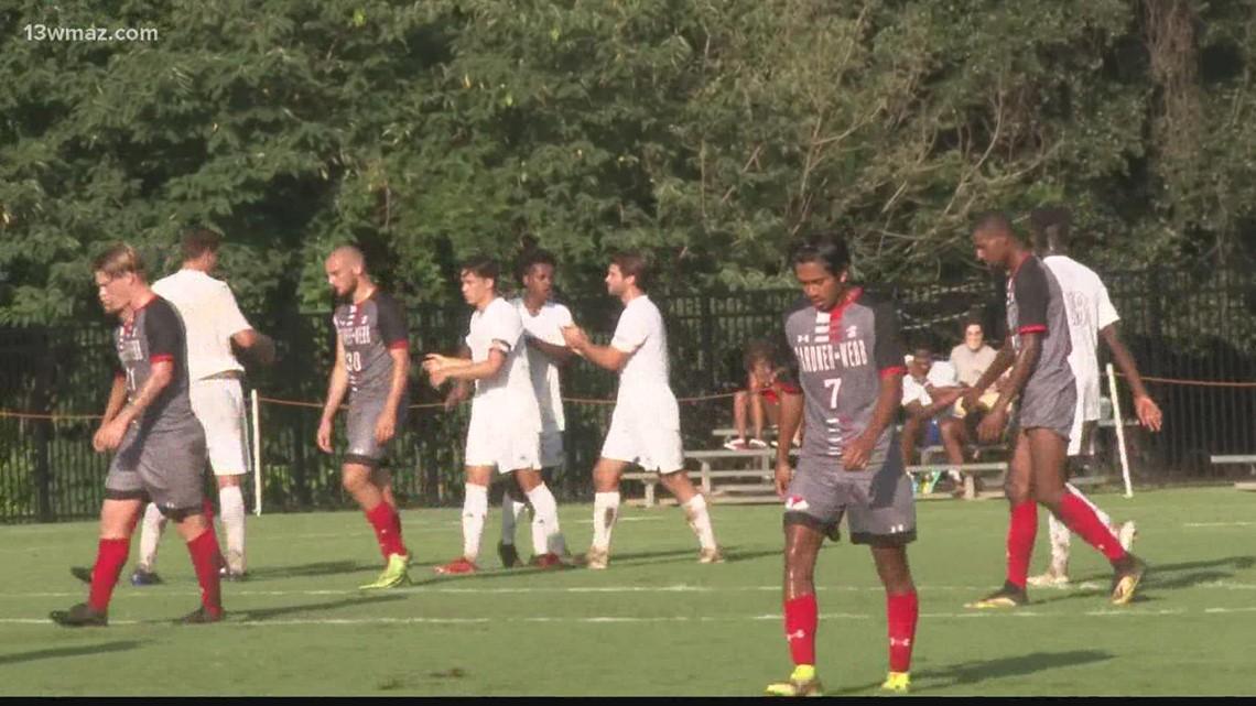 Mercer hosts Gardner Webb in men's soccer action