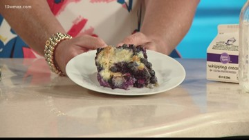 Cooking with Suzanne Johnson: Blueberry bread pudding