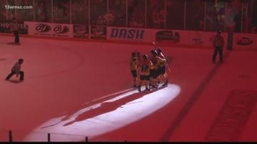 Macon Mayhem freeze Knoxville Ice Bears