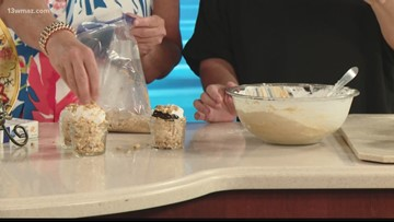 Cooking with Suzanne Johnson: Peanut Butter Fudge Pie in a Mason Jar