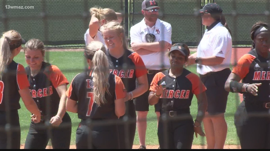 Mercer softball blanks Western Carolina