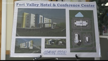 'Any new business is great for the town': Fort Valley hotel and conference center closer to breaking ground