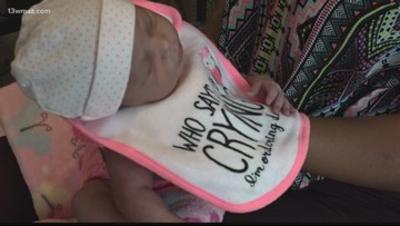 First baby born in Forsyth in over 30 years