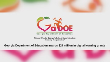 Georgia DOE awards $21M grant to help schools with digital learning
